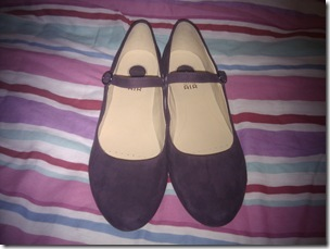 Purple Suede Shoes