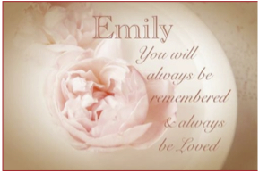 In Memory of Emily Collingridge