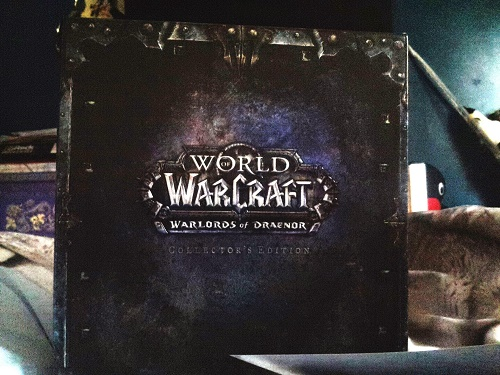 Warlords of Draenor Collector's Edition box